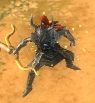 R dark armor