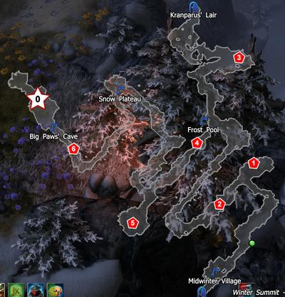 Winter Summit 2019 boss map