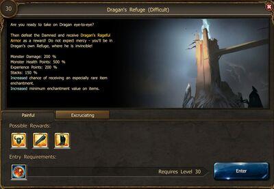 Dragan's Refuge Painful