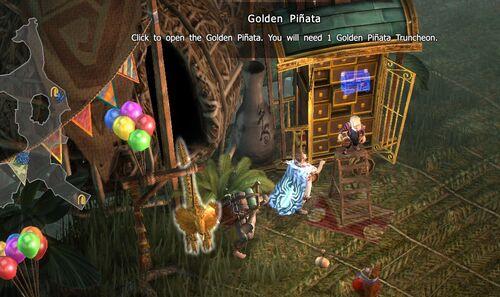 Golden Pinata-Yaltepetl