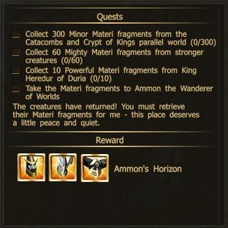 Horizon ammon