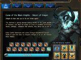 Curse of the Black Knights - Return of Dragan III