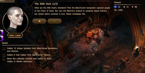 The Wild Hunt 1-3
