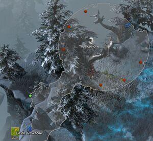 Black Knights' Battleground CoT V map