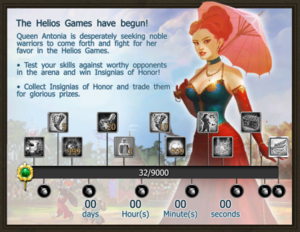 Helios 2 progress bar