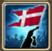 Festive Flag (Denmark) Icon