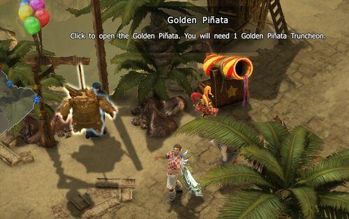 Golden Pinata-Hiraja