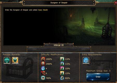 Dungeon of Despair Inf3 ES