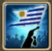 Festive Flag (Uruguay) Icon