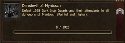 Achievement-Daredevil of Myrdosch