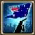 Festive Flag (Australia) Icon
