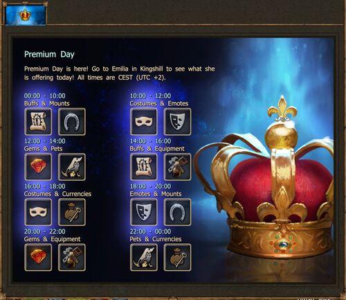 Premium Day 1-9-2018