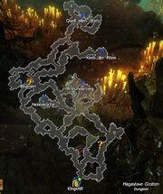 Map - Hagastove Grotten