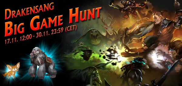 Big Game Hunt banner