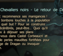 La malédiction des Chevaliers noirs - Le retour de Dragan