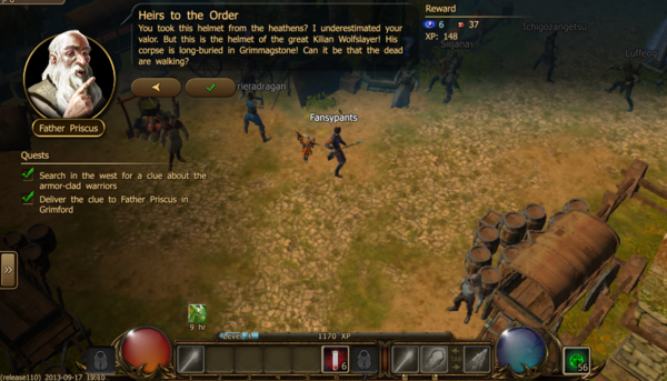 Heirs to the order 1.3