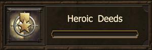 Heroic Deeds-A-M