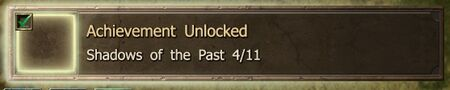 Shadows of the Past 4-11 end Achievement