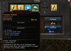 T3 leg amulet craft
