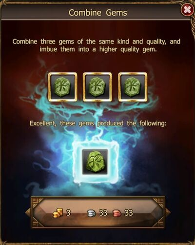 Mighty Rune of Regeneration craft
