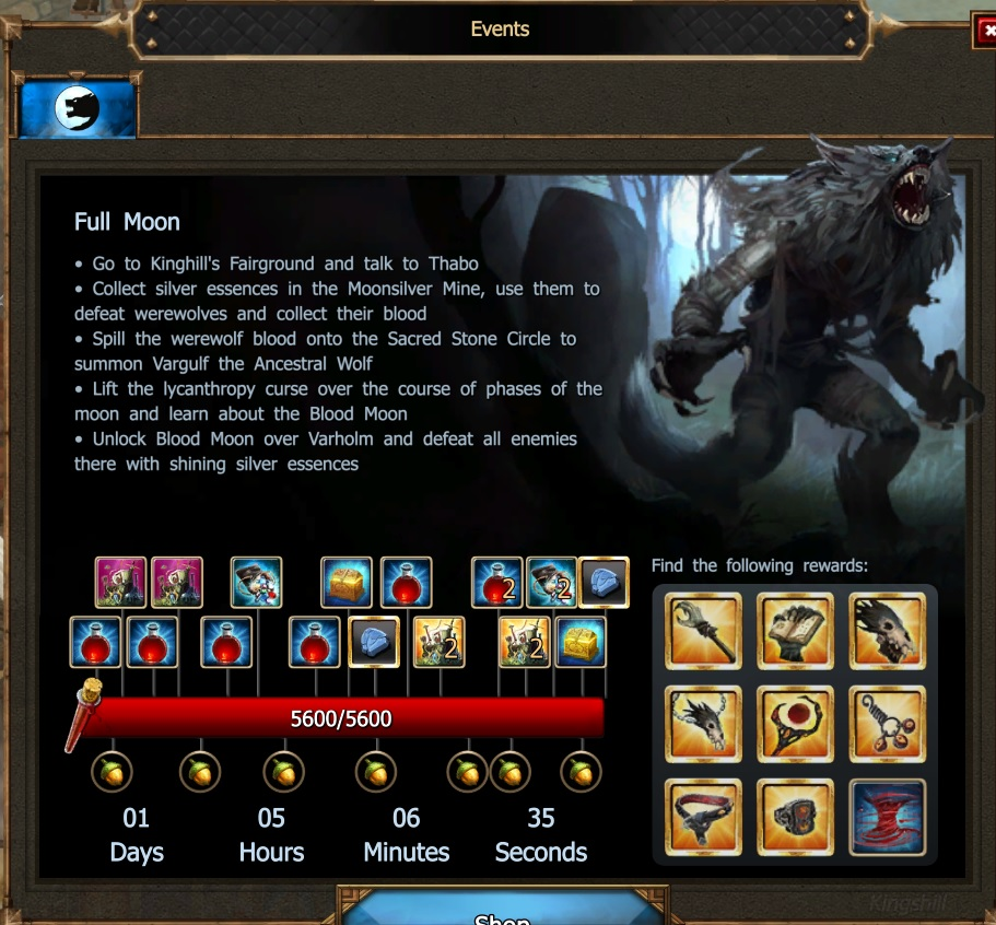 drakensang event naptár Full Moon(new) | Drakensang Online Wiki | FANDOM powered by Wikia drakensang event naptár