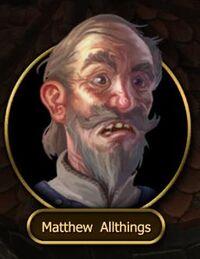 NPC - Matthew Allthings