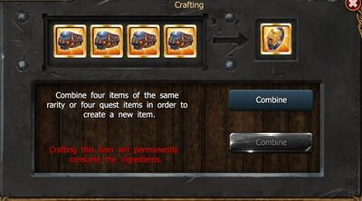 Crafting Tier3 Ring