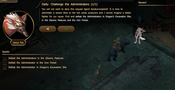 Daily - Challenge the Administrators