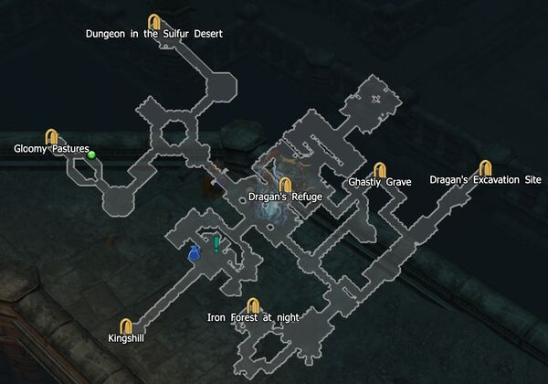Castle Ravencaw N map