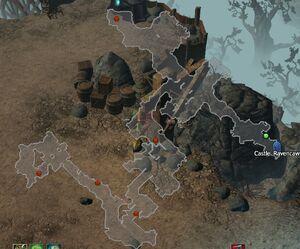 Dragan's Excavation Site CoT V map