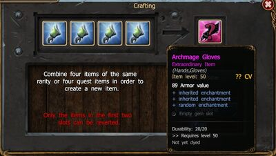 Crafting gloves enchantments BC-0