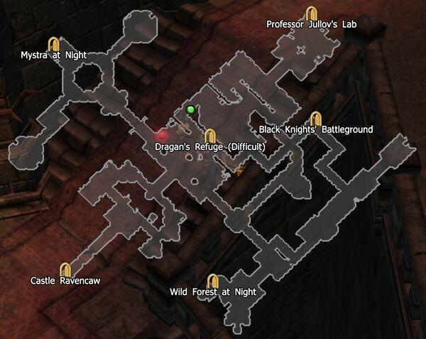 Castle Ravencaw Difficult Map