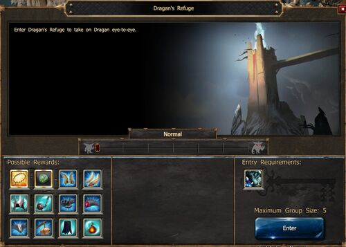 Dragan's Refuge Screen Normal