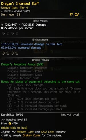 Dragan's Incensed Staff T4 SW