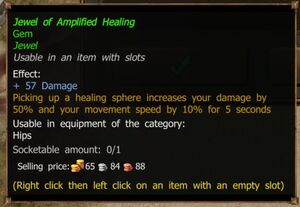 Jewel of Amplified Healing (Improved)
