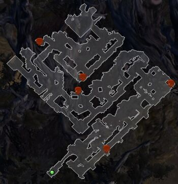 Fortress Teganswall SM Map