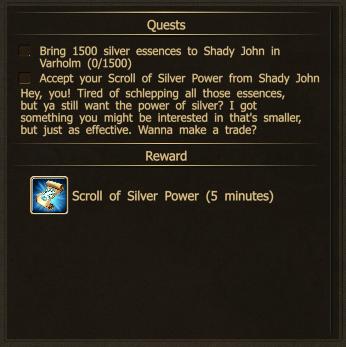 Shady jon silver exchange