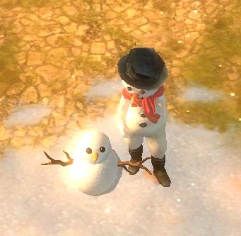 Build snowman im