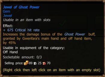 Jewel of Ghost Power (Magic)