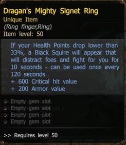 Dragans Mighty Sugnet Ring