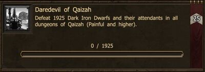 Achievement-Daredevil of Qaizah