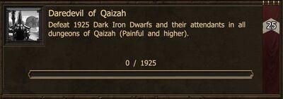 Achievement-Daredevil of Qaizah
