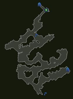 Loxley Caverns Map N