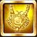 Golden Helios Amulet Icon