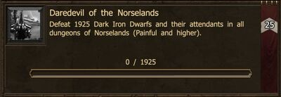 Achievement-Daredevil of Norselands