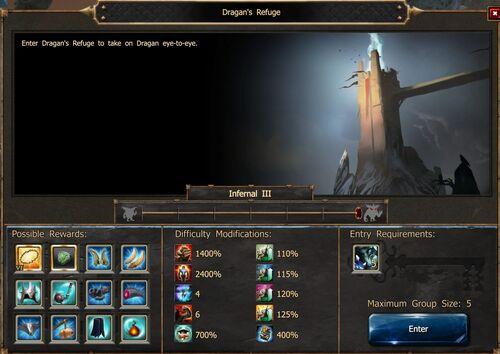 Dragan's Refuge Screen Infernal III