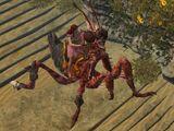 Armored Red Mantis
