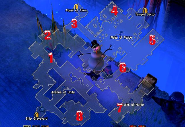 Heart of Atlantis-Snowman