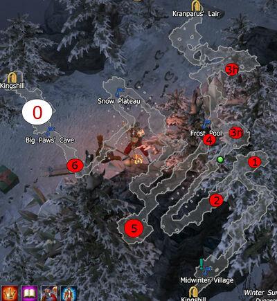 Winter Summit Boss Map