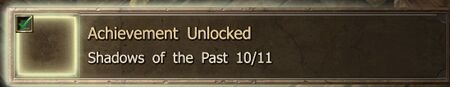 Shadows of the Past 10-11 end Achievement